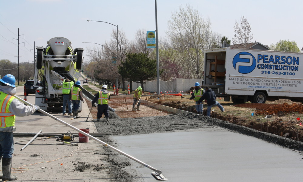 Pearson Construction, LLC Concrete Paving