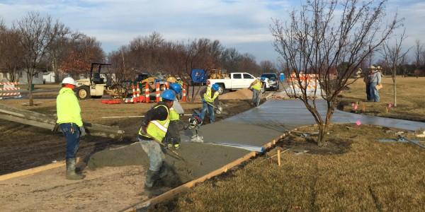Pearson Construction, LLC Concrete Paving